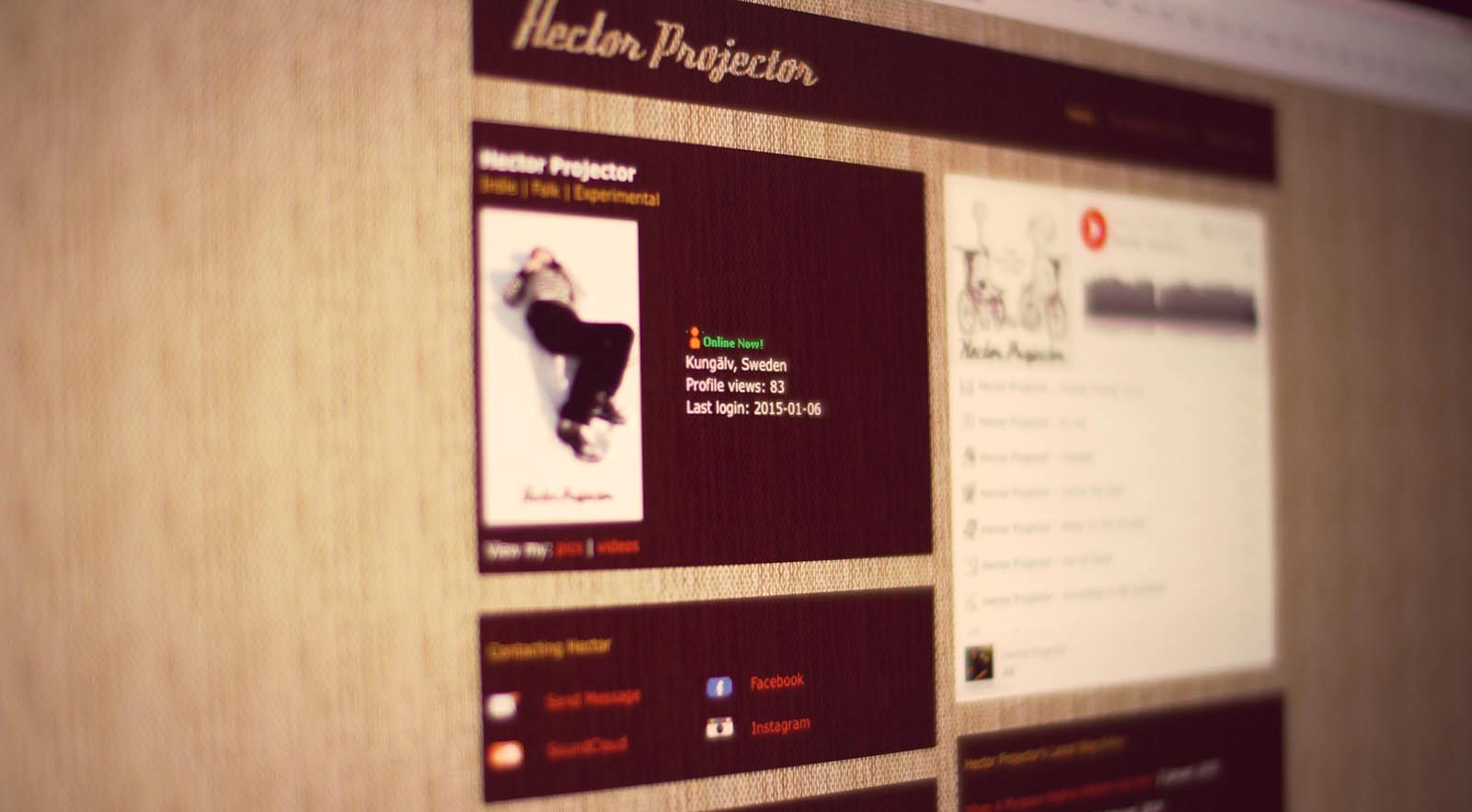 hector_myspace_website_f